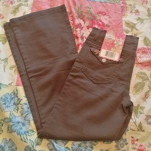 NWT Mudd Girls Denim Jean Pant Size 10